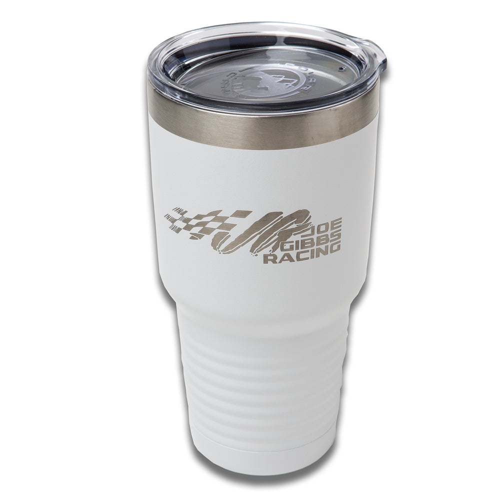 JGR White Polar Camel 30oz Tumbler