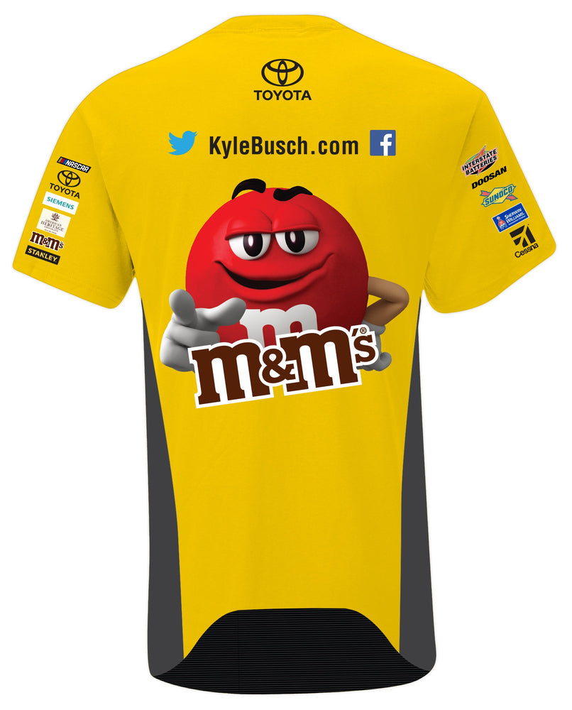 Kyle Busch 2019 M&M Youth Pit Crew Tee