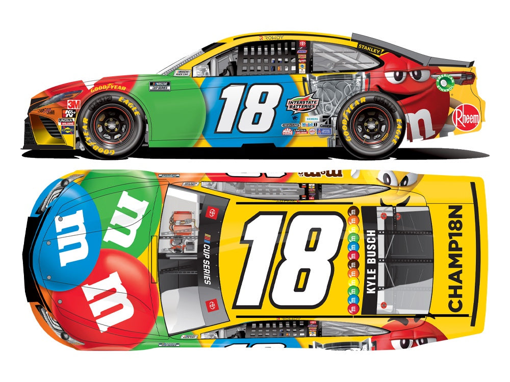 "2020 1:24 Kyle Busch M&M's  ""The Clash"""