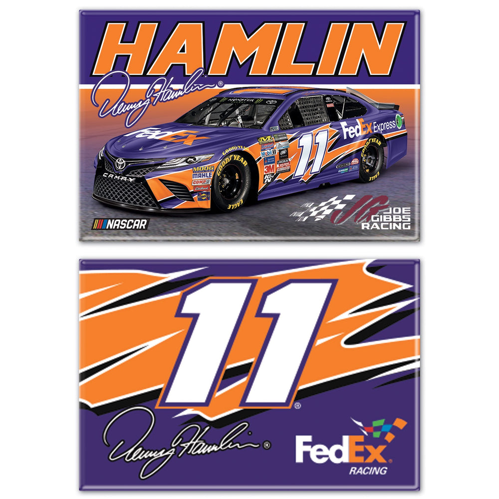 Denny Hamlin FedEx Magnet Two Pack