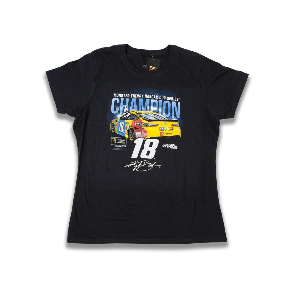 Kyle Busch Ladies Champ Car Tee 2019