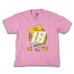 Kyle Busch Girls Youth Bow Tee