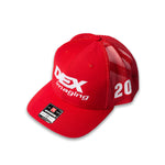 Harrison Burton 2021 DEX Imaging Richardson Team Trucker Cap
