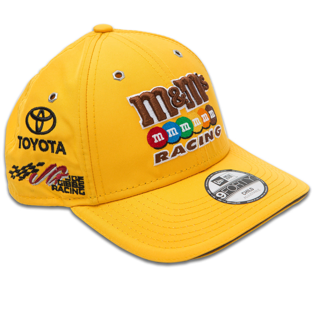 Kyle Busch M&M's Racing Youth New Era 940 Driver Hat