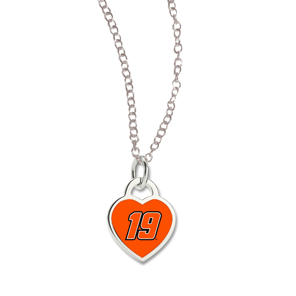 Martin Truex Jr. Necklace w/3D heart