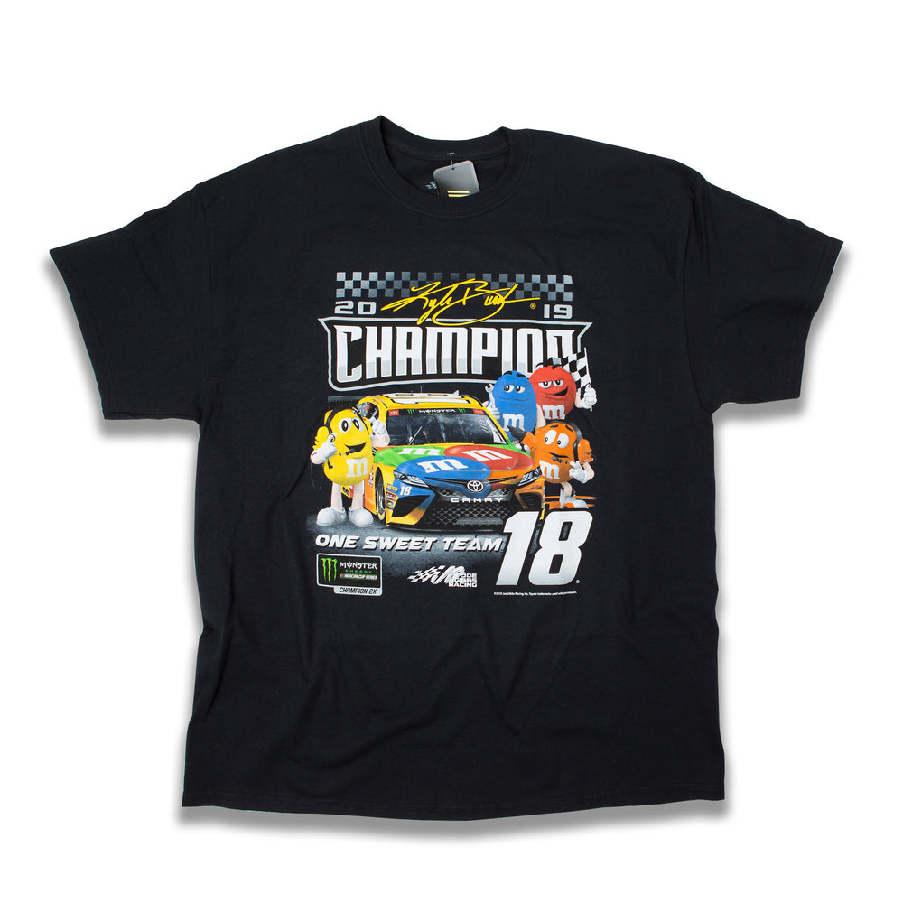 2019 Kyle Busch  Character Champ Adult Tee