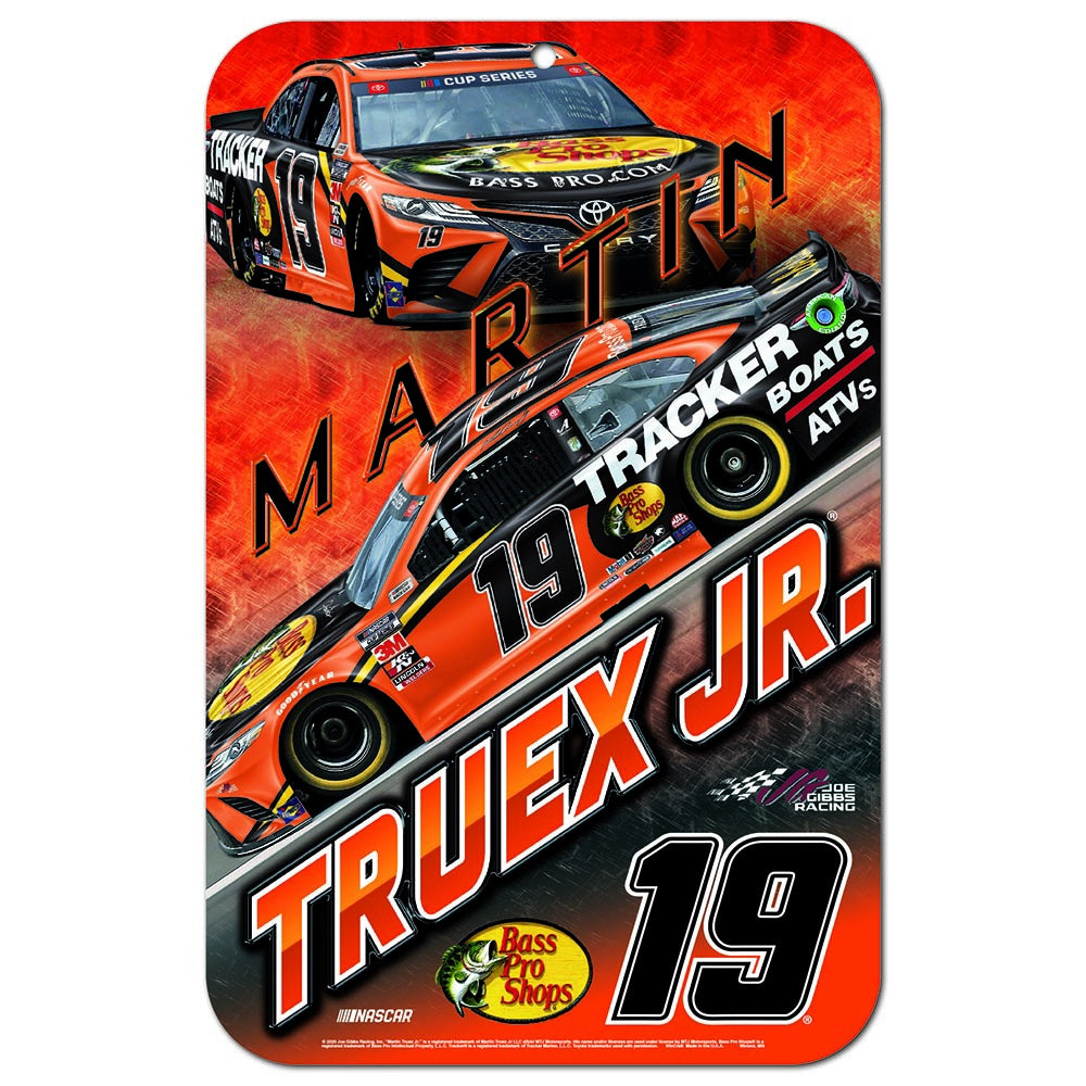 Martin Truex Jr. 11x17 Garage Area Sign 2020