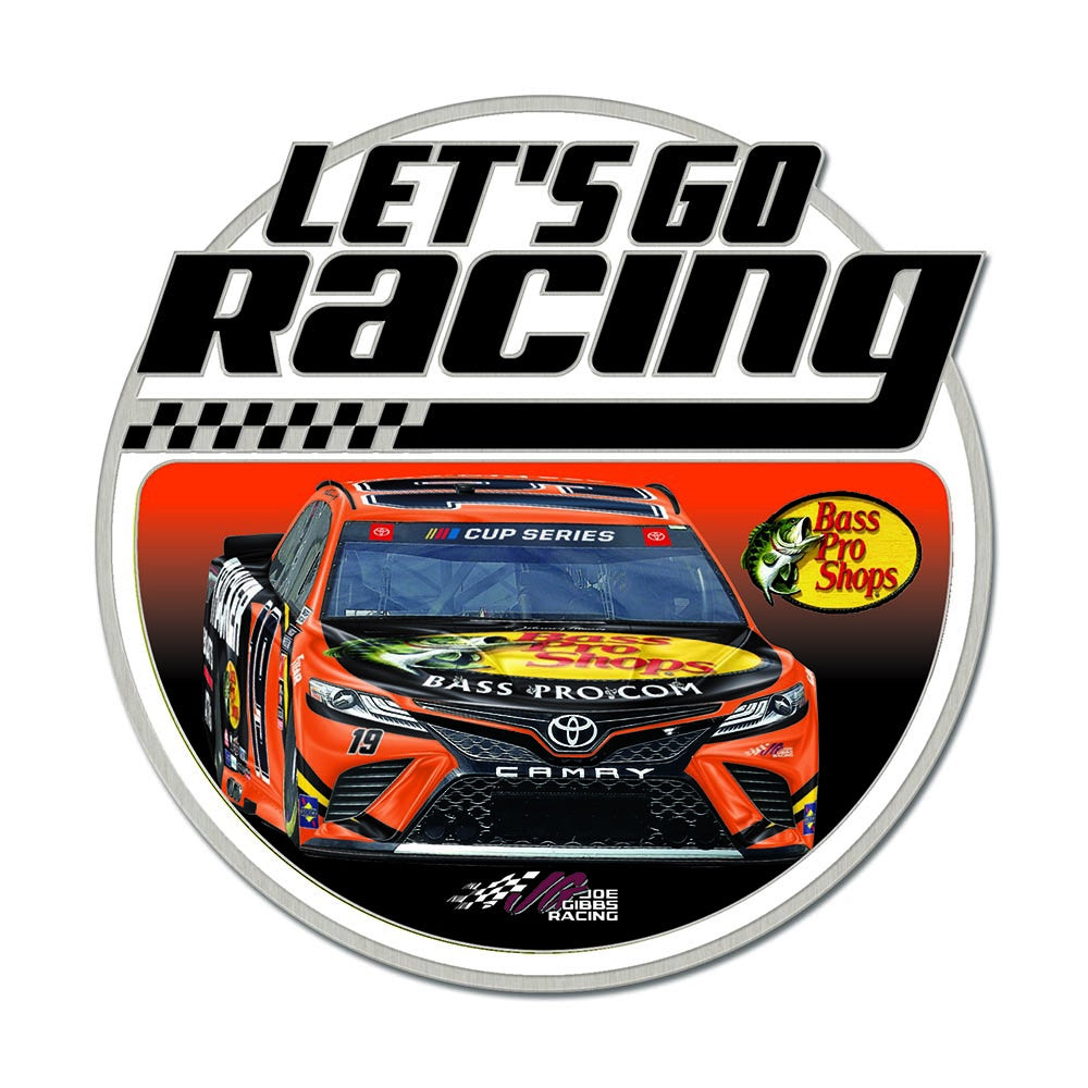 Martin Truex Jr. Let's Go Racing Collector Pin