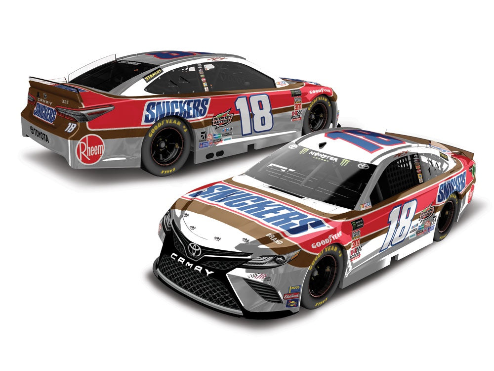 2019 1:64 Kyle Busch Snickers Throwback Darlington Die Cast