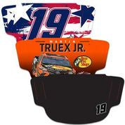 Martin Truex Jr.   3-Pack Fan Masks Face Covering