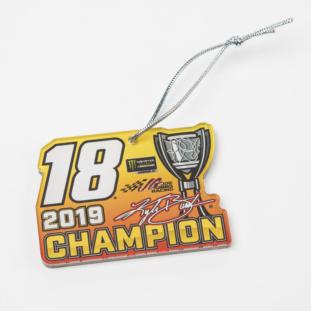 Kyle Busch 2019 MENCS Champion Ornament