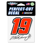 "Martin Truex Jr. Perfect Cut Die Cut Decal 4"" X 4"""