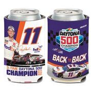 Denny Hamlin FedEx Daytona 500 3 Time Champ Coozie