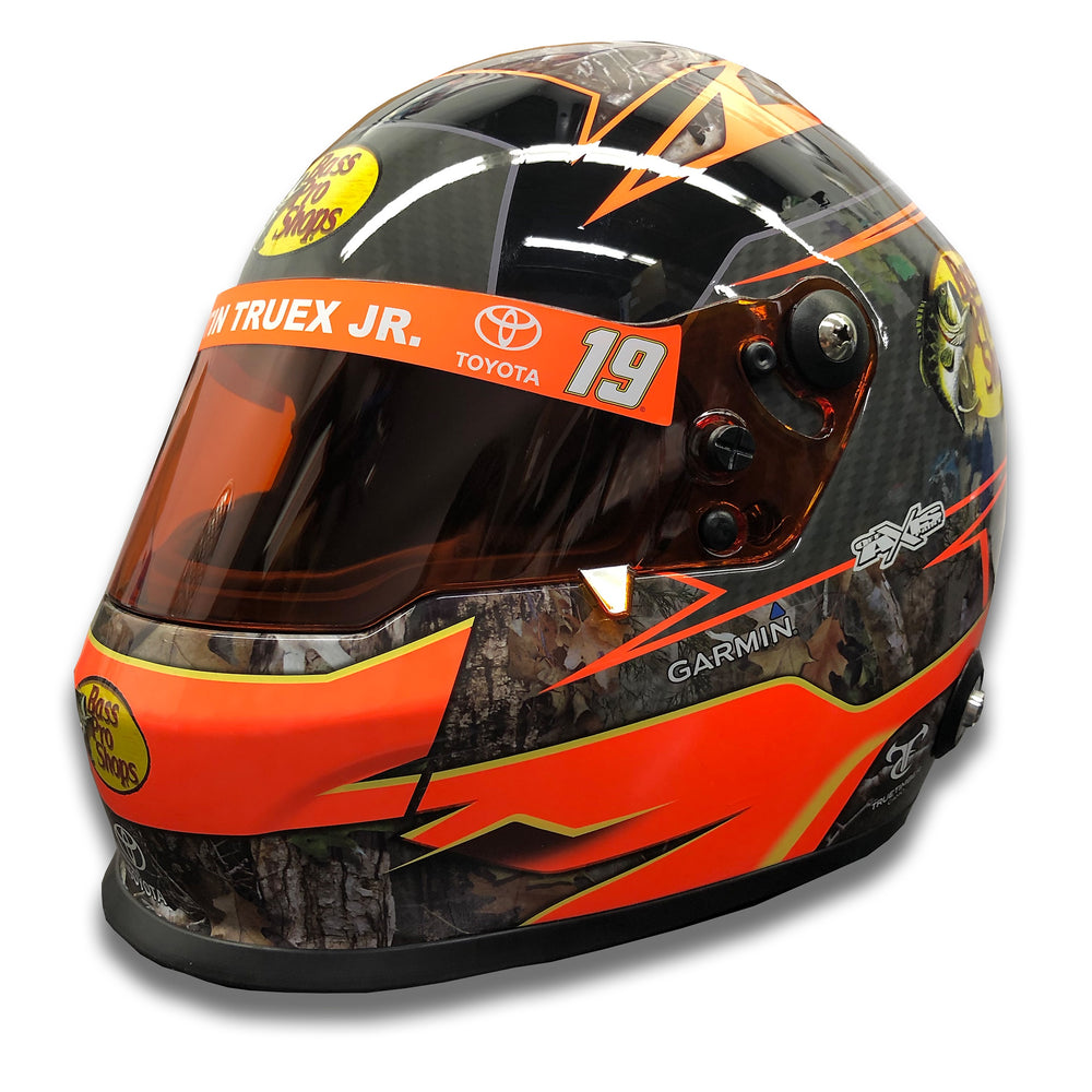 Martin Truex Jr. Bass Pro Shop 2019 Replica Helmet Mini Size