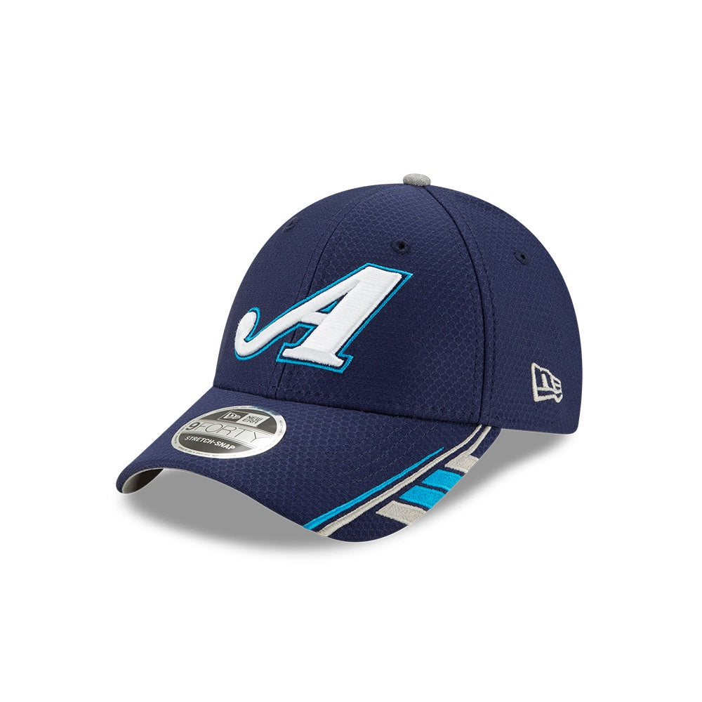 Martin Truex Jr. 2020 Sponsor NE 940 Stretch Snap Cap -Auto Owners