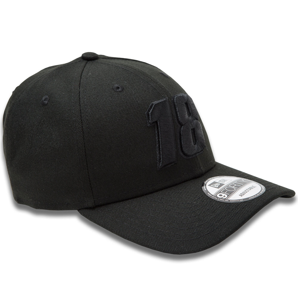 Kyle Busch Blackout Number New Era 940 Hat