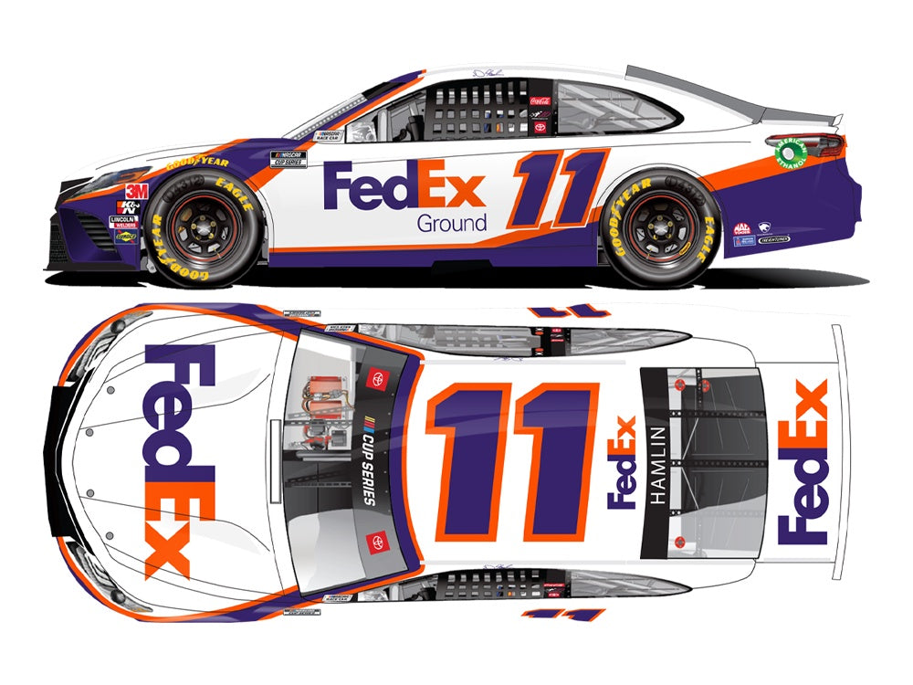 2020 1:64 Denny Hamlin FedEx Ground All-Star Diecast