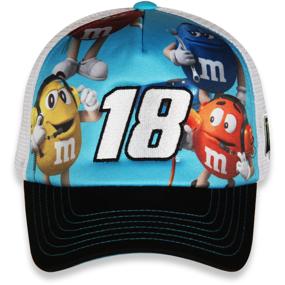 Kyle Busch M&M's Character Champ Hat