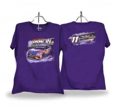 Denny Hamlin 2018 Ladies Car Tee