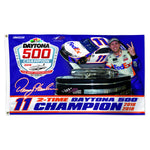 Denny Hamlin FedEx  Daytona 500 Champ 3x5 Flag