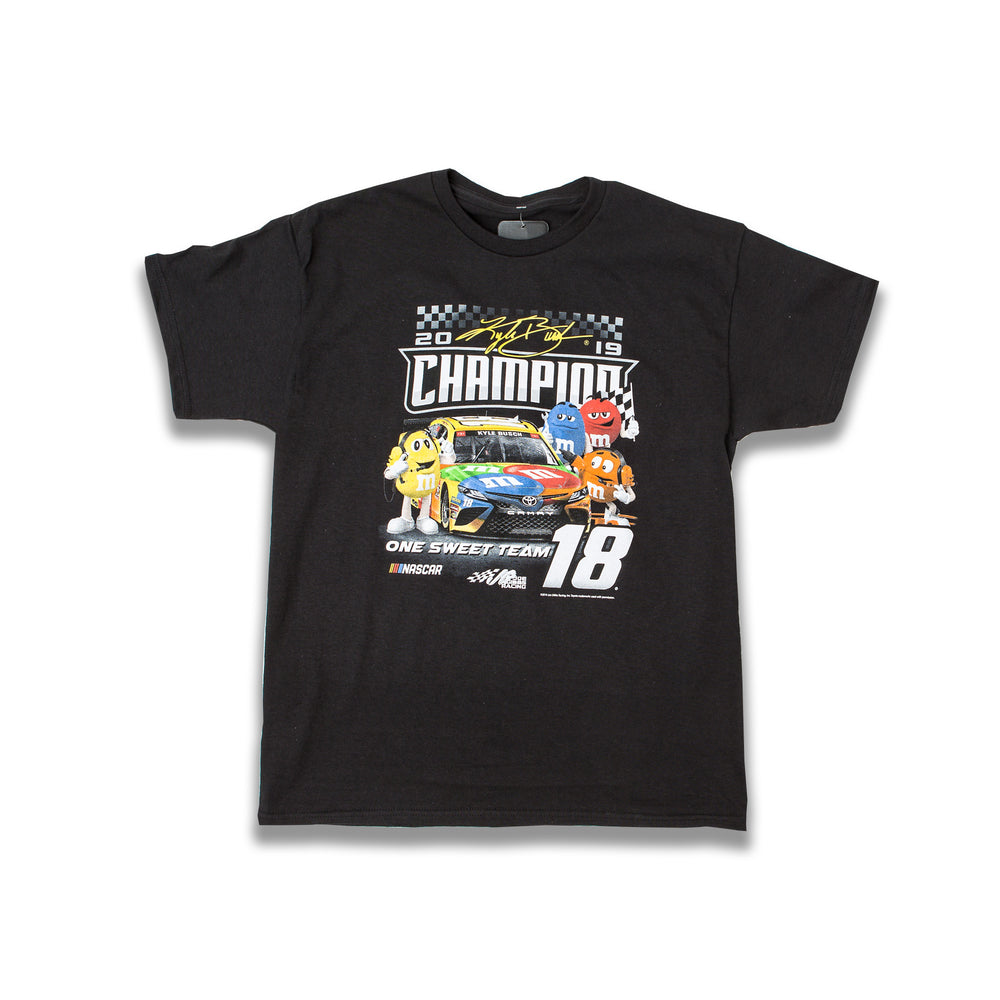 2019 Kyle Busch MENCS Character Champ Youth Tee
