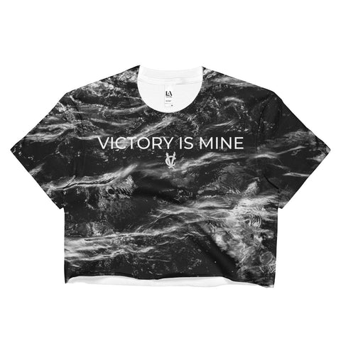Black Sky - Women's Crop Top