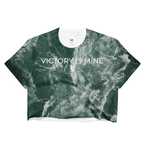 Ocean Waves - Women's Crop Top