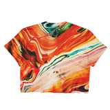 Magma Flow - Women's Crop Top