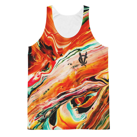 Magma Flow - Unisex Tank Top