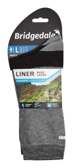 Bridgedale COOLMAX Liner Sock