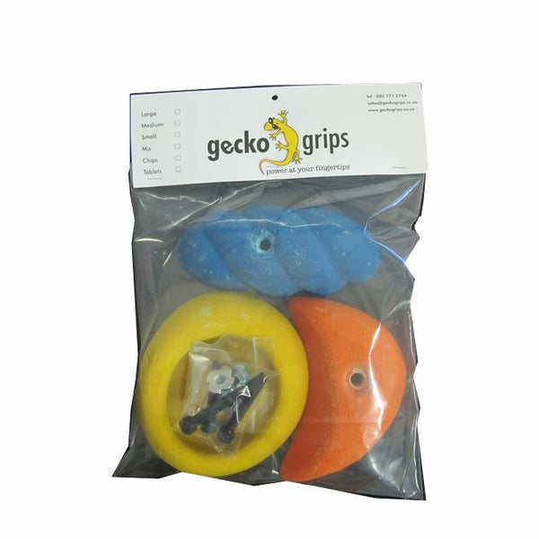 Gecko Grips Large Grip Set