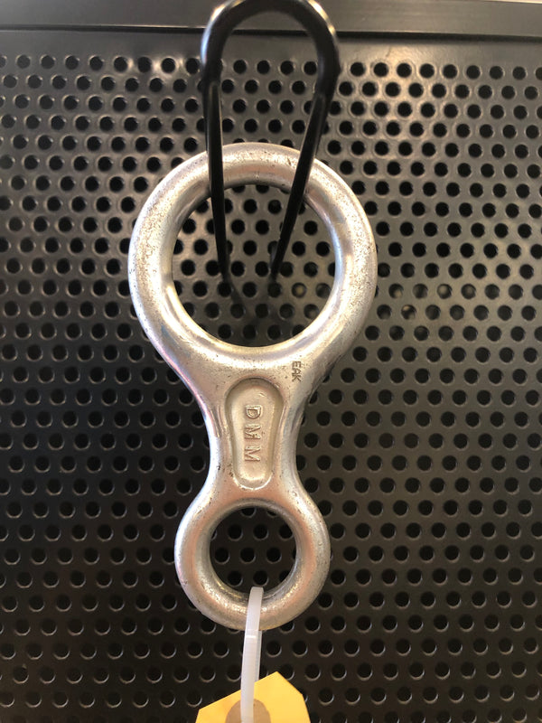 Figure 8 belay device