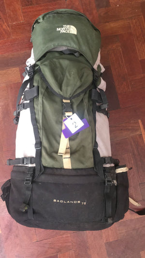 North Face Badlands 75l (2)