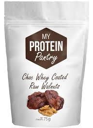 Choc Whey Coated Raw Walnuts 75g