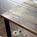 reclaimed wood table absalom classics