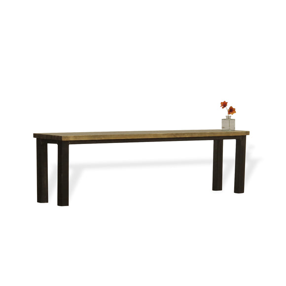 industrial wood bench absalom classics