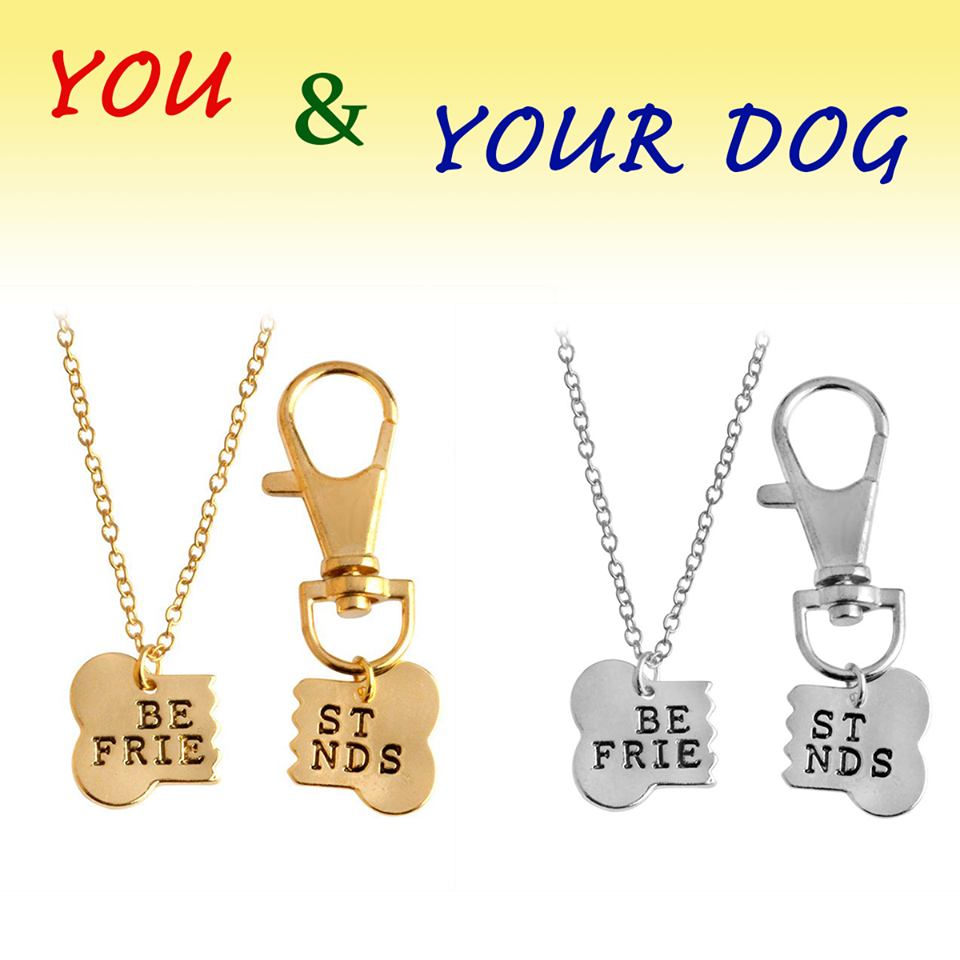 """Best Friend"" Dog Bone Necklace ( Limited Edition )"