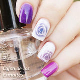 Charming flower Nail Art Stamping Plates