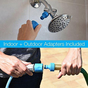 Aquapaw Pet Bathing Tool | Combination Sprayer and Scrubber, Indoor/Outdoor Use