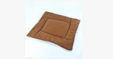 Brown Pet Cat Crate Warm Bed Mat