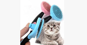 Automatic Pet Hair Removal Comb