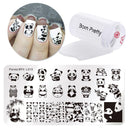 Lace Flowers Pattern Nail Art Stamping Plates