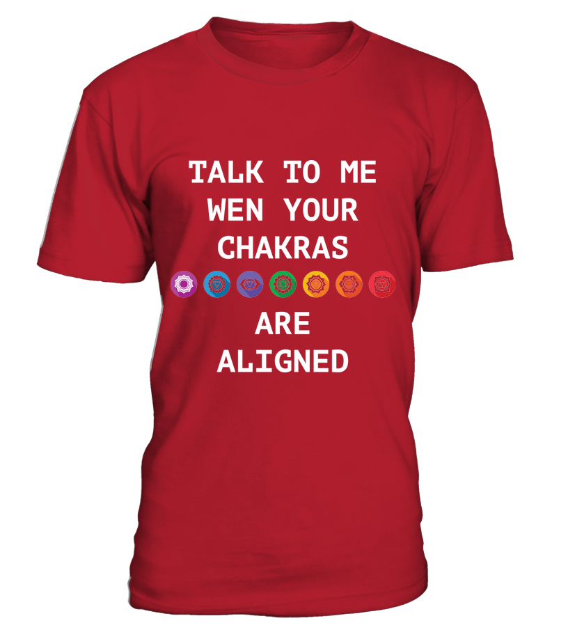 Talk To Me When Your Chakras Are Aligned