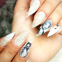 DIY Famous Vintage Popstar Nail Art Decal