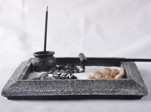 Zen Garden Incense Burner