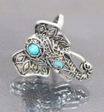 Namaste Elephant Ring Set