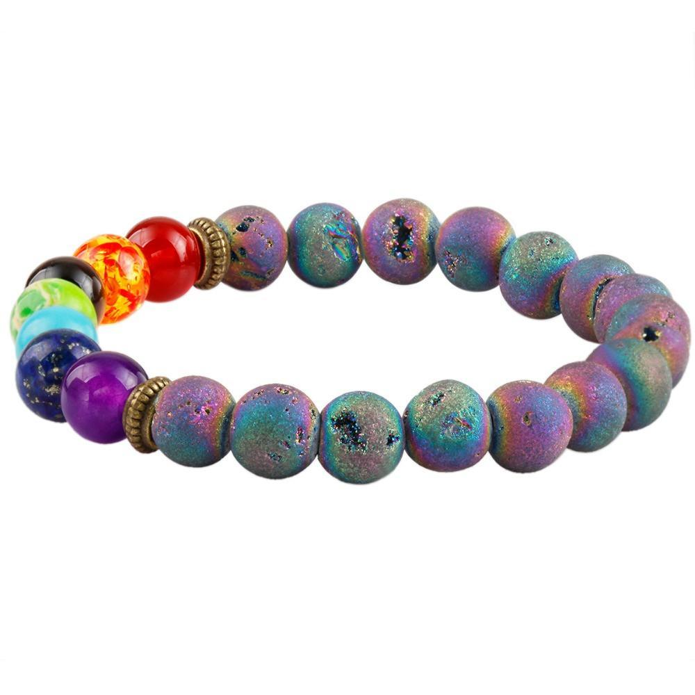 New 7 Chakra Prism Bracelet (For New Beginnings)