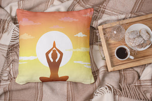 Sunset Yoga Pillow