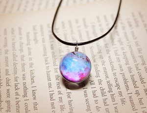 Galaxy Glass Necklace