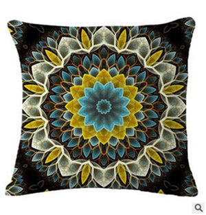 Bohemian Mandala Cushion Cover Pillow